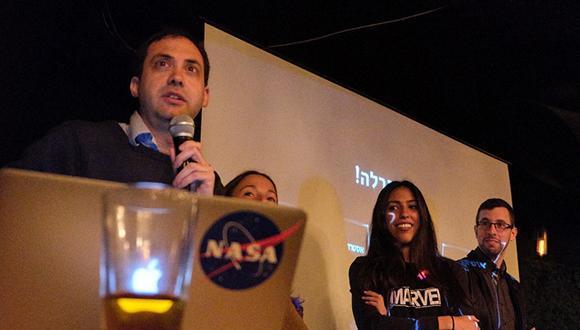 """מעל 400 אנשים בארוע ההשקה של """"אסטרונומיה על הבר"""""""