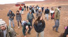 סיור בקורס מדעי כדור-הארץ